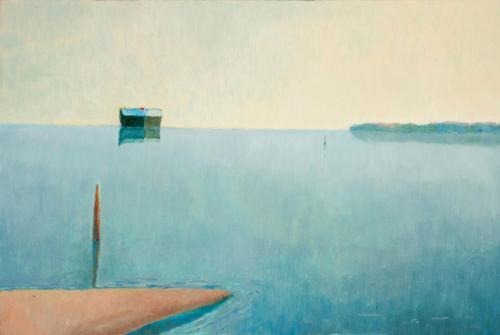 Port Phillip Bay 2010, oil on canvas, 51 x 76 cm  (Private Collection)