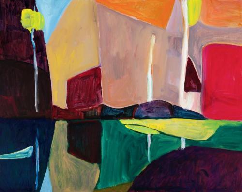 """""""Pool"""" 2012, oil on linen, 107 x 137 cm"""
