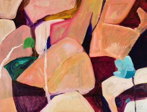 """Scree"" 2012, oil on linen, 107 x 137 cm"