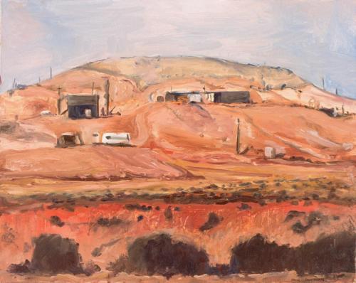 Coober Pedy 4 2005 oil on canvas 61 x 76 cm