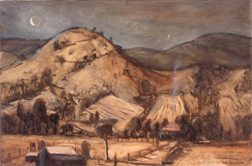 Mount Sinai (Qld), 2005, oil on linen, 51 x 76 cm. (Private Collection)