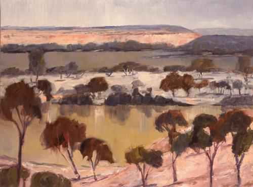 Murray River, 2005, oil on canvas, 76 x 102 cm. (Private Collection)