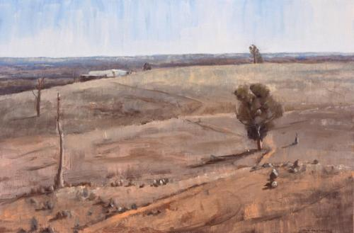Strathalbyn, 2005, oil on canvas, 61 x 92 cm. (Private Collection)