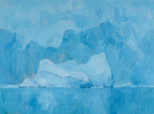 Paradise Bay 2008 Oil on linen 76 x 102 cm