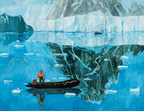 Zodiac 2010 oil on linen 107 x 137 cm (Private Collection)
