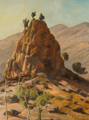 """""""Pinnacle, Arkaroola"""" 2007, oil on linen, 102 x 76 cm (Private Collection)."""