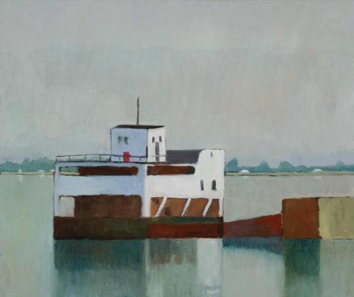 """""""Maputo"""" 2009, oil on linen, 56 x 66 cm"""