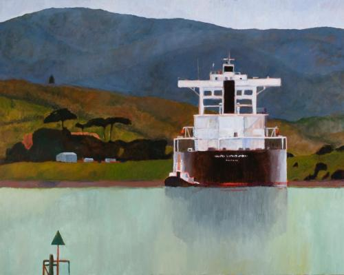 Bell Bay 2009 Oil on linen 122 x 153 cm (Private Collection)