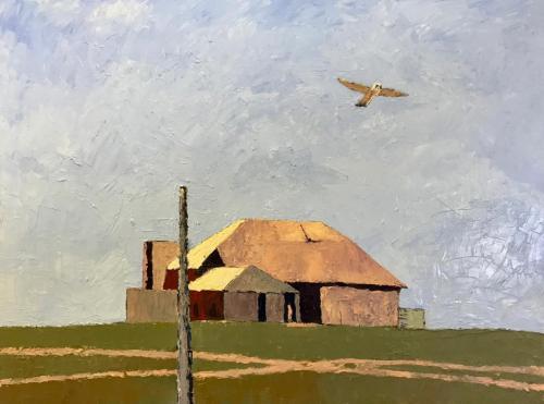 Eyre 2020 oil on canvas 102 x76 cm