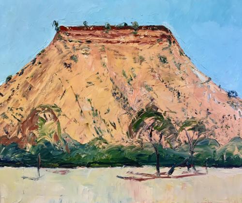 Mesa 2019 oil on linen 61 x 51 cm