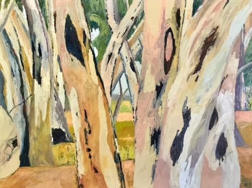 Umberumberka 2019 oil on canvas 102 x76 cm