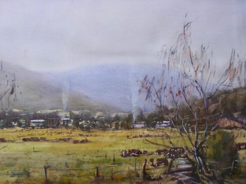 Mount Donna Buang 2003 56 x 76 cm