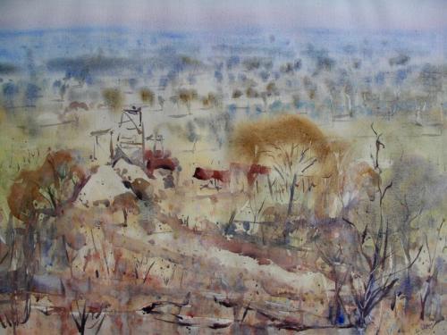 Mount Monger 2003 56 x 76 cm